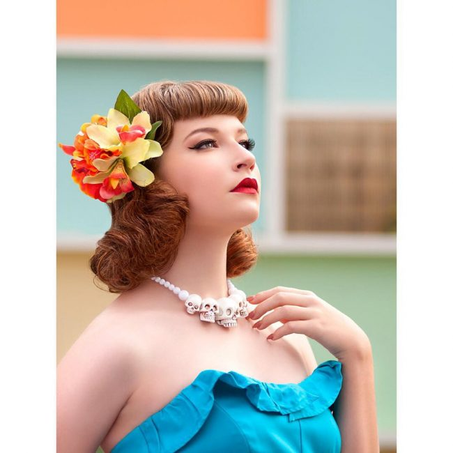 Pin Up Hairstyles 9