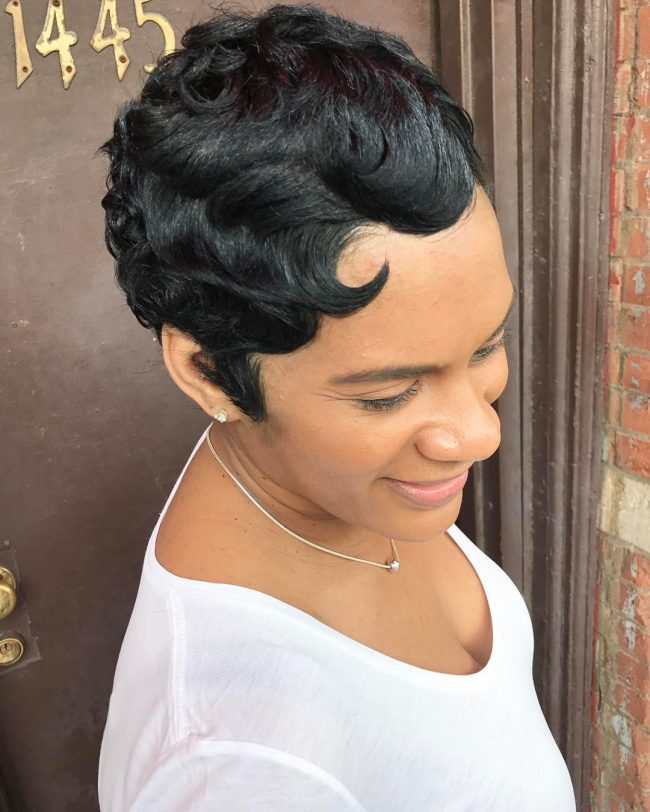 Short Hairstyles for Black Women 17