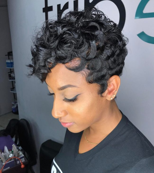 Short Hairstyles for Black Women 19
