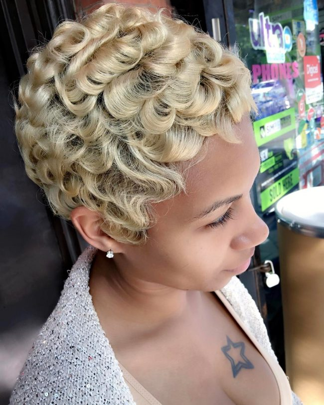 Short Hairstyles for Black Women 2