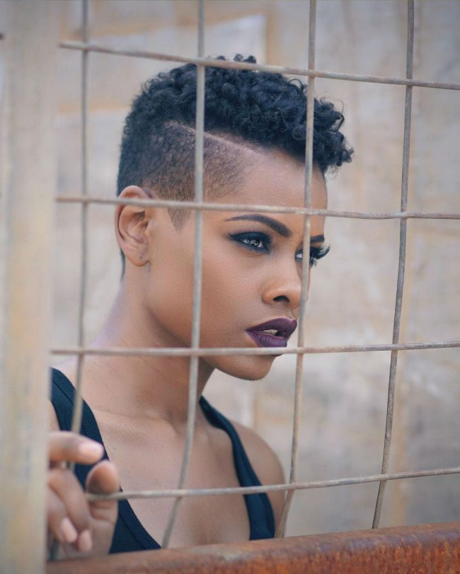 Short Hairstyles for Black Women 36