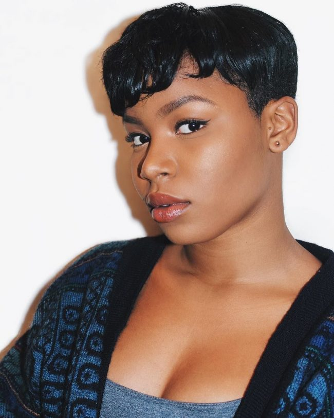Short Hairstyles for Black Women 46