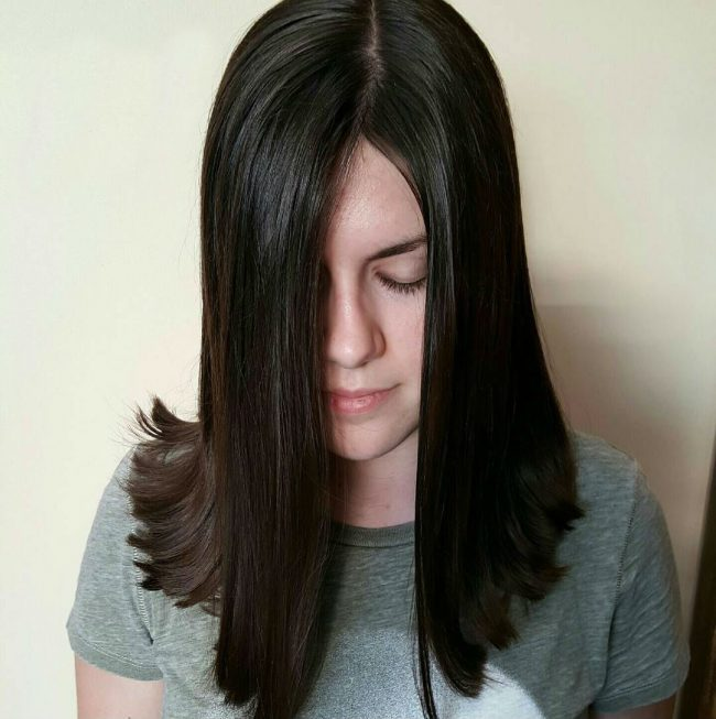 Straight Hairstyles 7