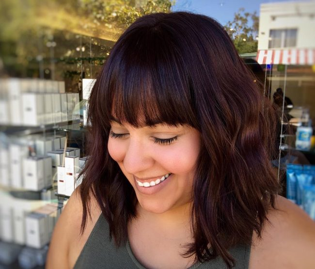 hairstyles with bangs 28