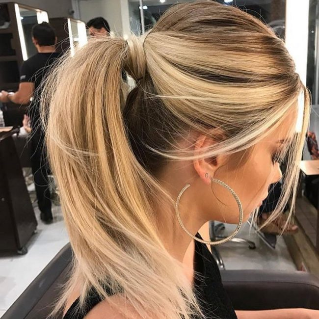 ponytail hairstyles 15