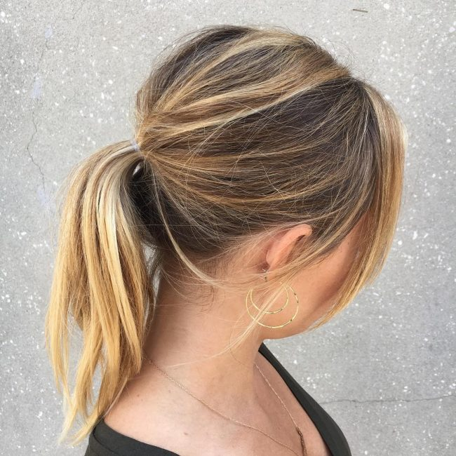 ponytail hairstyles 28