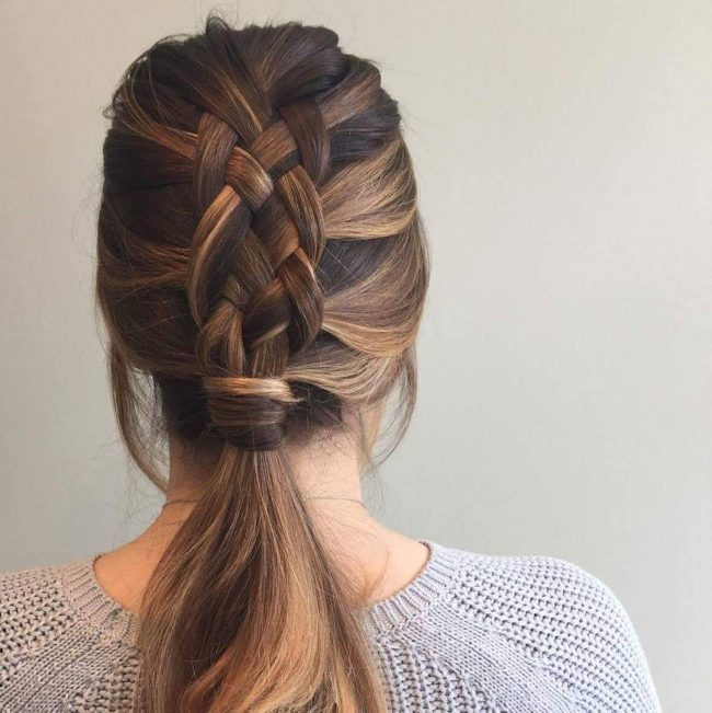 ponytail hairstyles 35