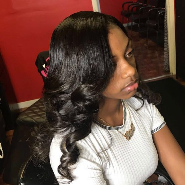 sew in hairstyles 17