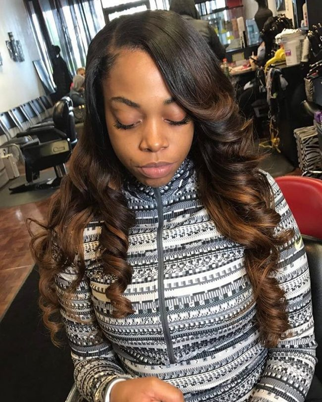 sew in hairstyles 19