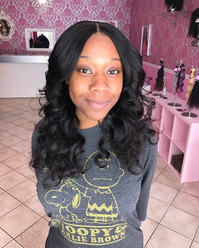sew in hairstyles 22