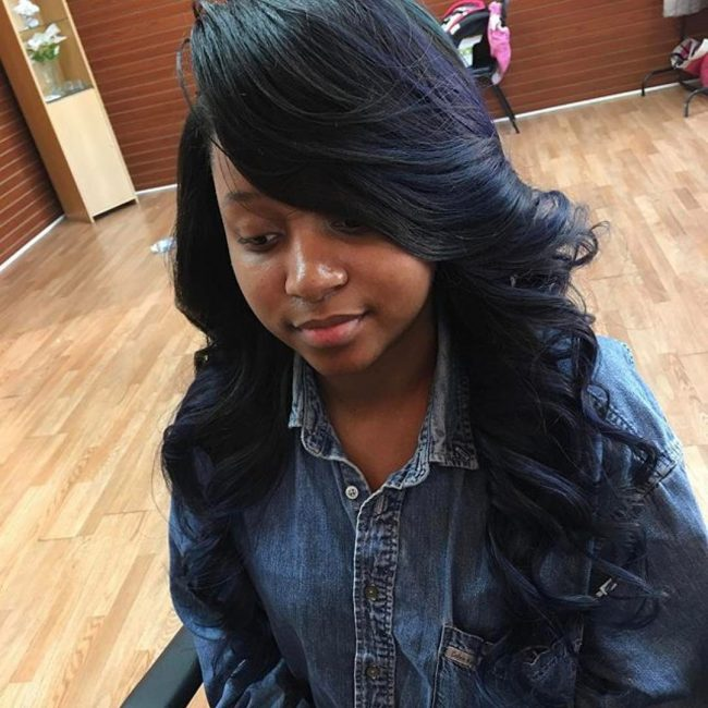 sew in hairstyles 31