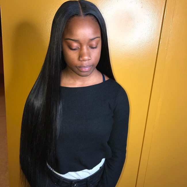 sew in hairstyles 33