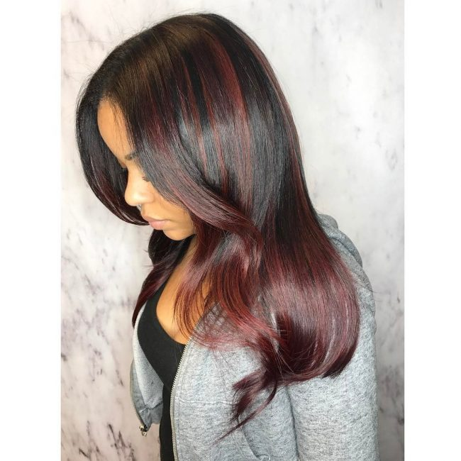sew in hairstyles 37