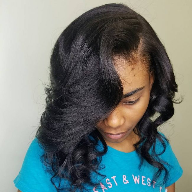 sew in hairstyles 4