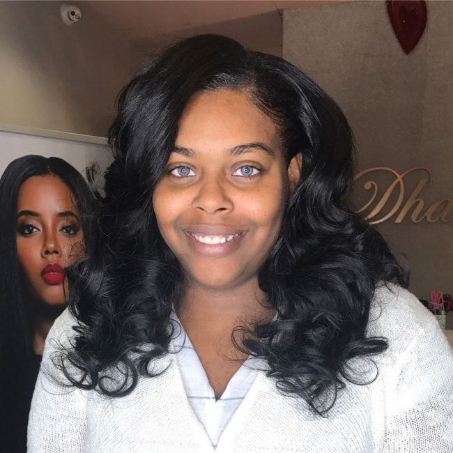 sew in hairstyles 43