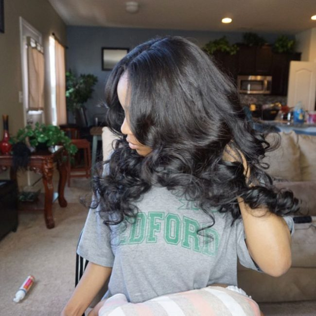 sew in hairstyles 47