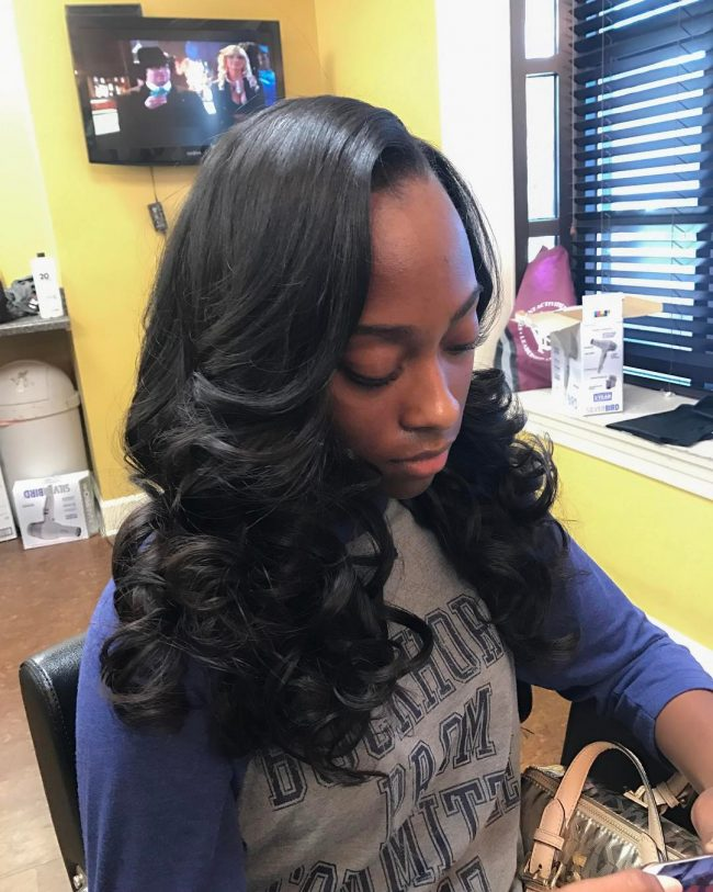 sew in hairstyles 48
