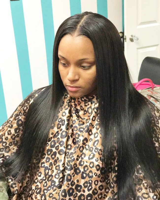 sew in hairstyles 9