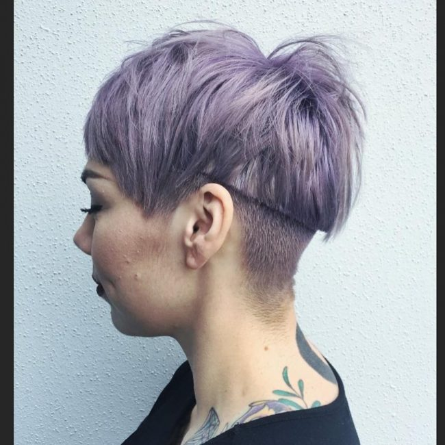 shaved hairstyles for women 22