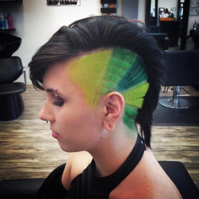 shaved hairstyles for women 35