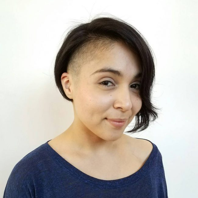 shaved hairstyles for women 37