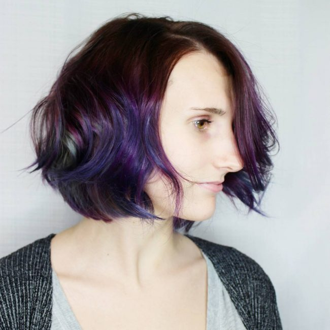 short hairstyles for round faces 41