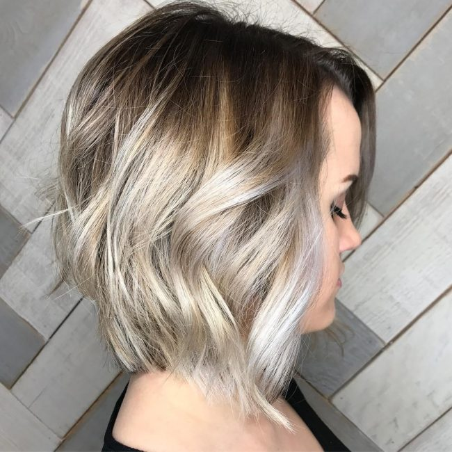 short hairstyles for round faces 47