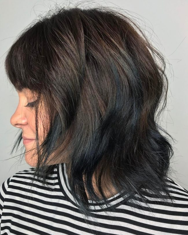short hairstyles for thick hair 23