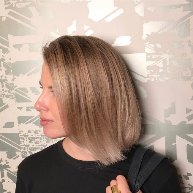 short hairstyles for thick hair 3