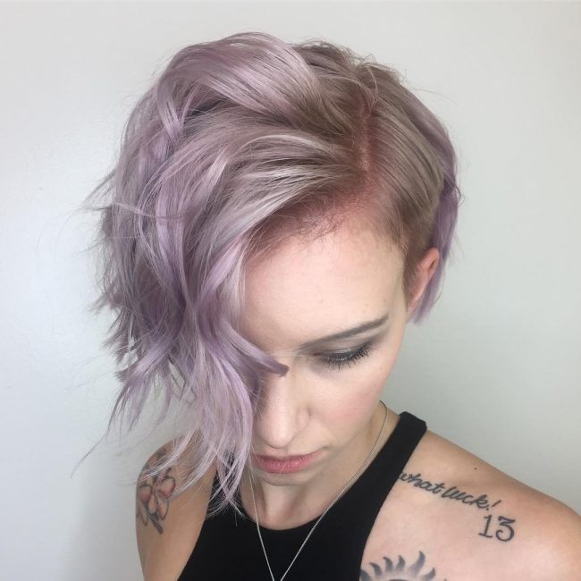 short hairstyles for thick hair 34