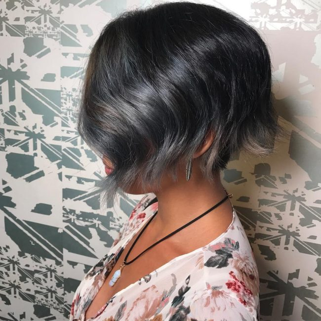 short hairstyles for thick hair 4