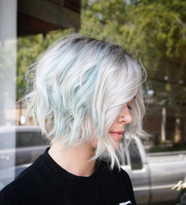 short hairstyles for thick hair 45