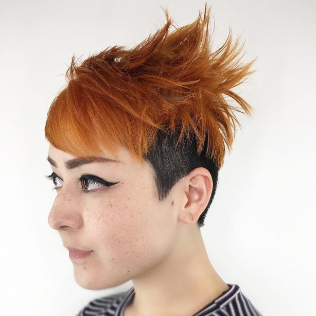 short hairstyles for thick hair 6