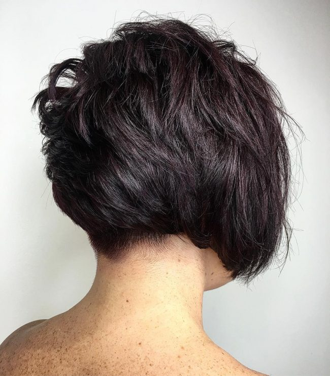 short hairstyles for thick hair 9