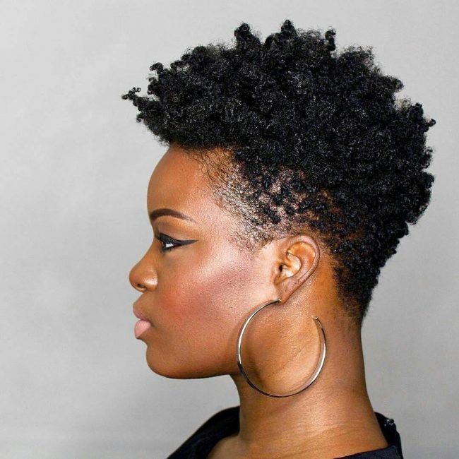 short natural hairstyles 1