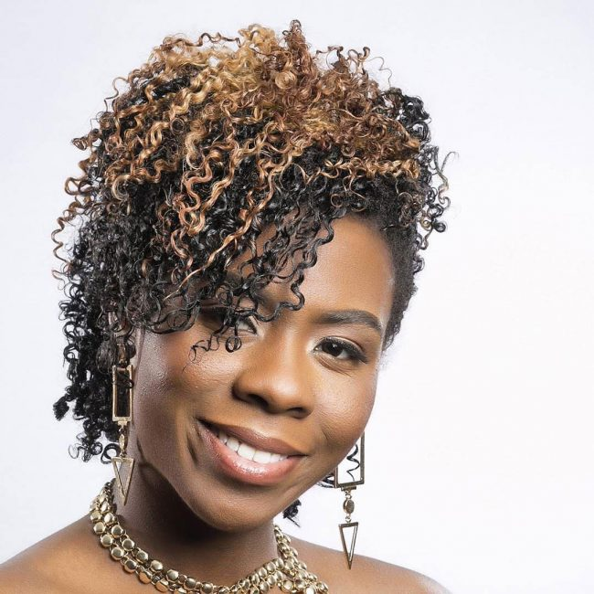 short natural hairstyles 11