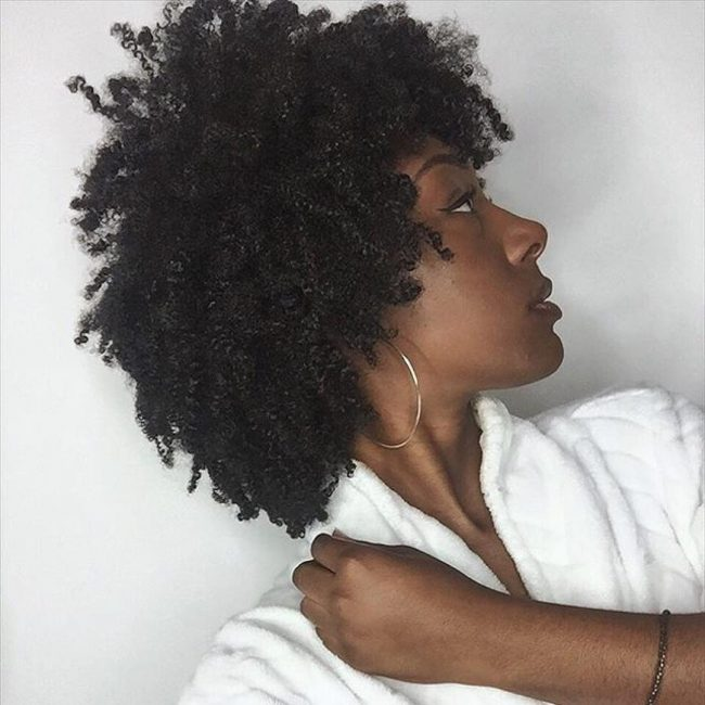 short natural hairstyles 13
