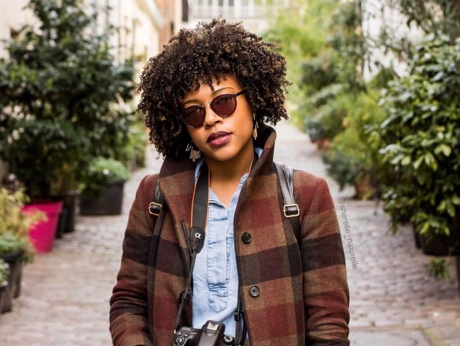 short natural hairstyles 17