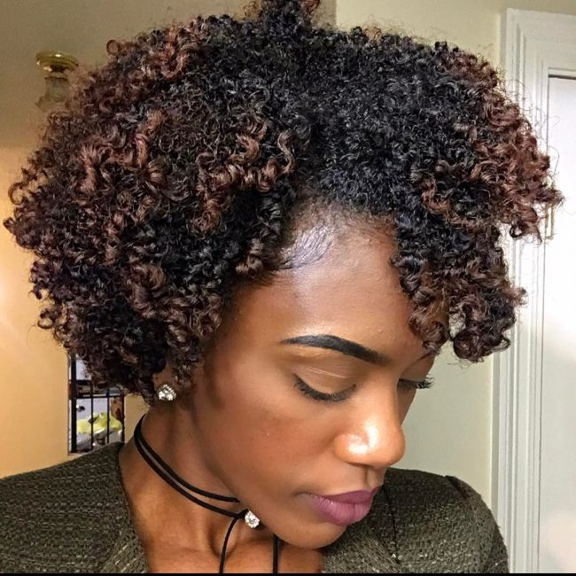 short natural hairstyles 27