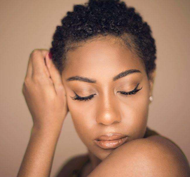 short natural hairstyles 31