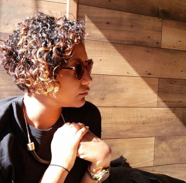 short natural hairstyles 47